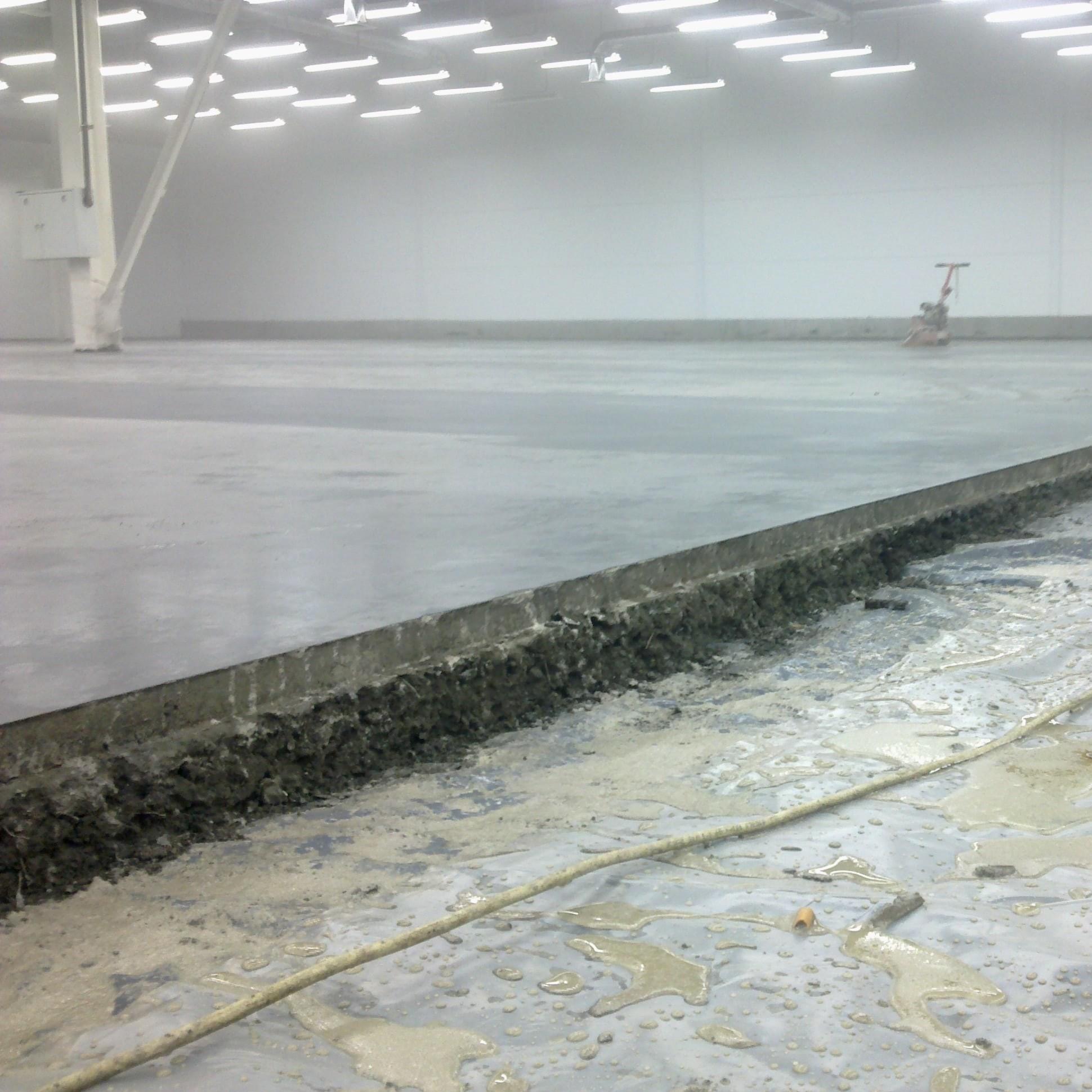 бетонные полы установка